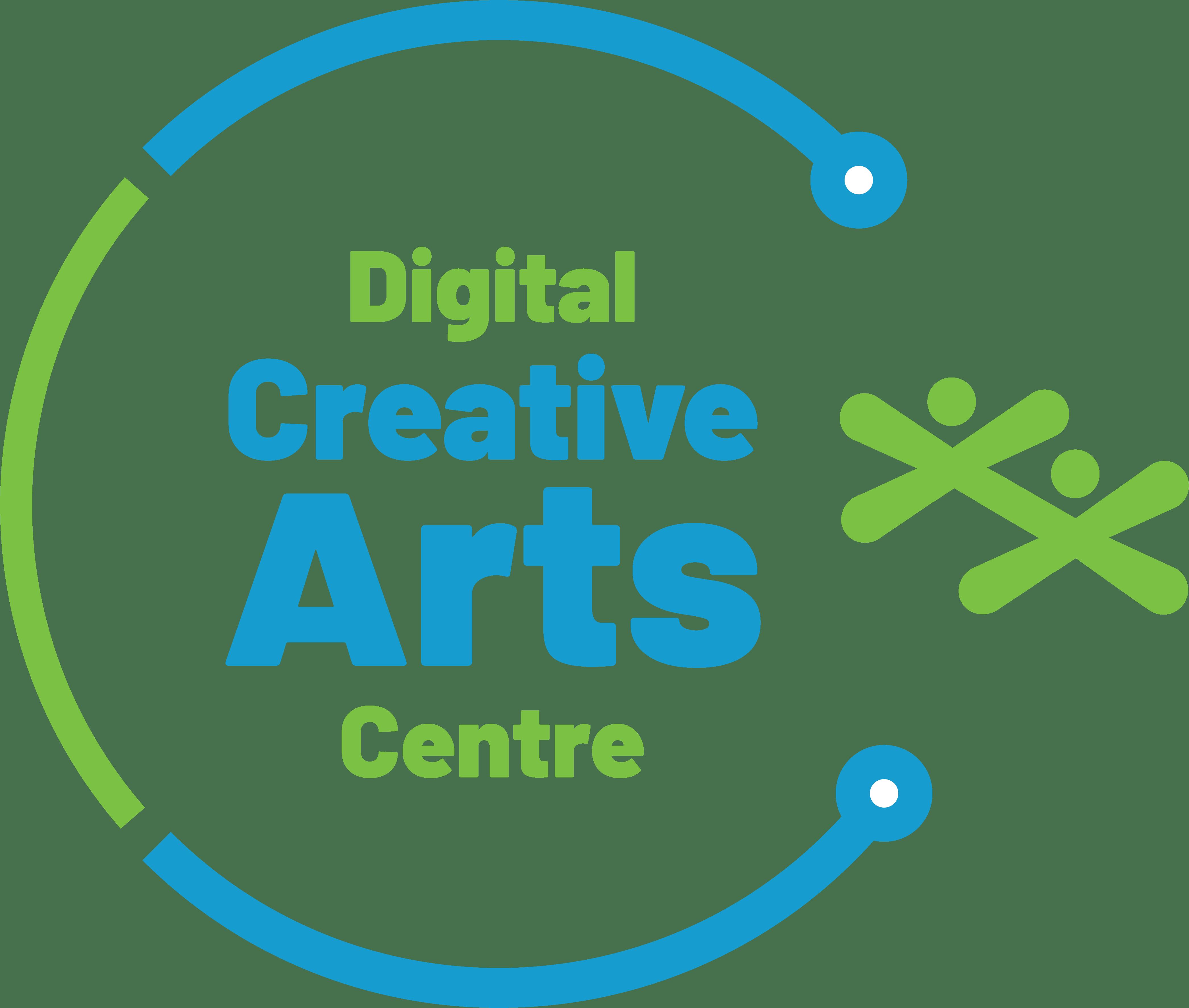 The Digital Creative Arts Centre Logo
