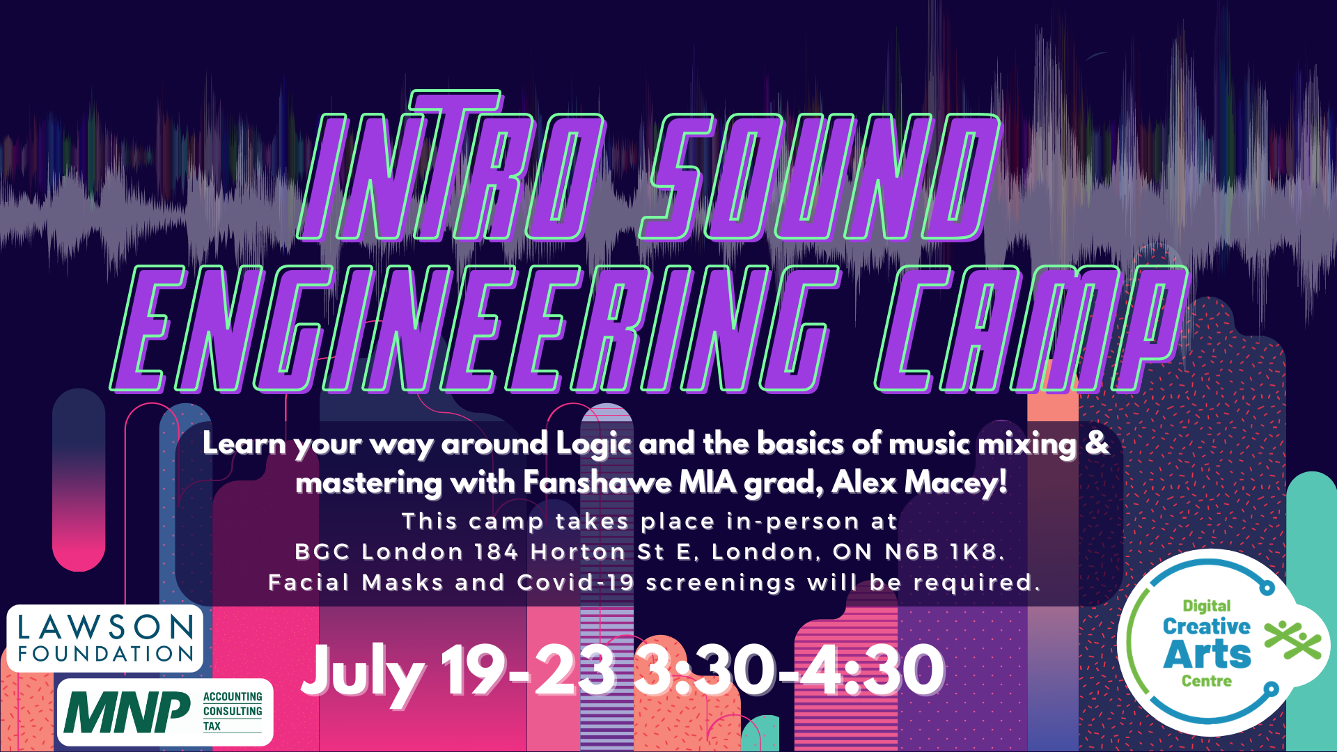 Intro to Sound Engineering Camp