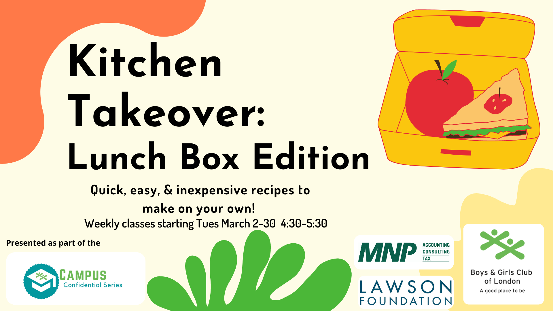 Kitchen Takeover Lunch Box Edition