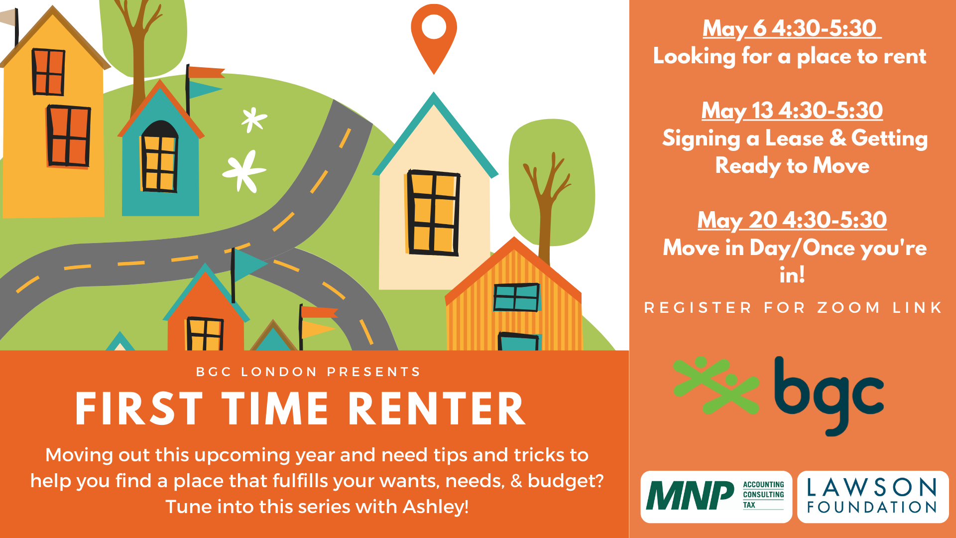 First Time Renter Graphic