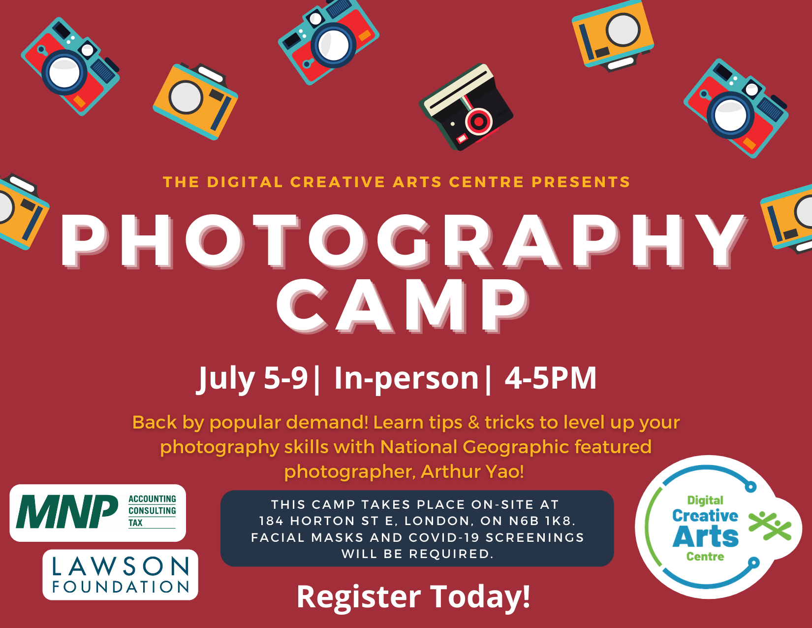 FREE Photography Camp