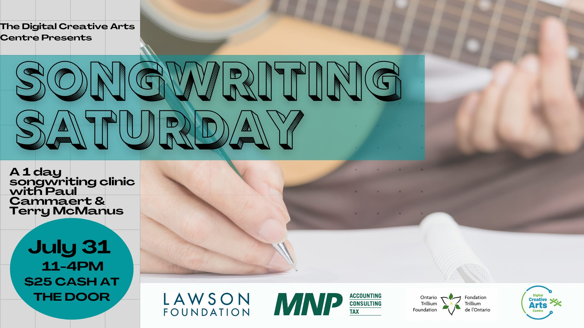 Songwriting Saturday